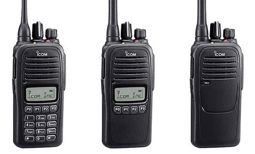 Icom IC-F1000, IC-F1000/S, IC-F1000/T VHF és IC-F2000, IC-F2000/S, IC-F2000/T UHF URH kézi rádió