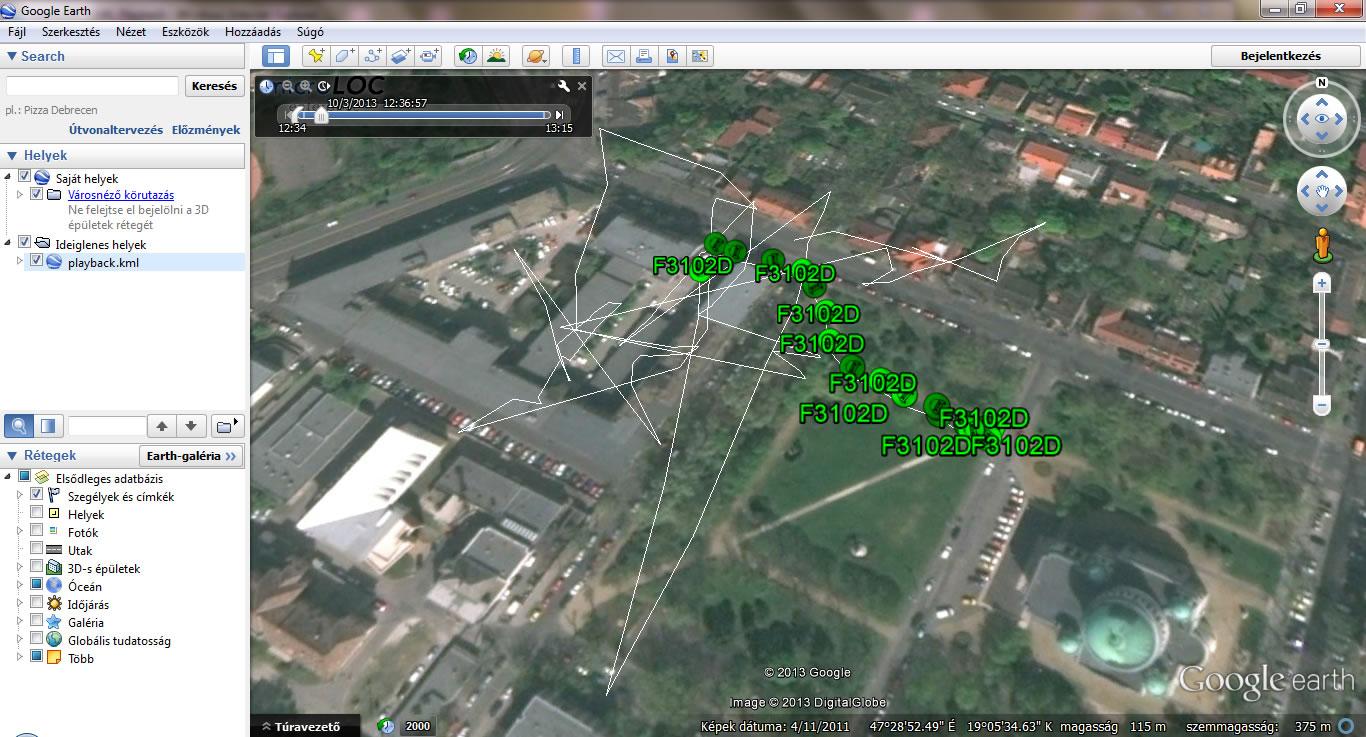 Diszpécser szoftver GPS helymeghatározással