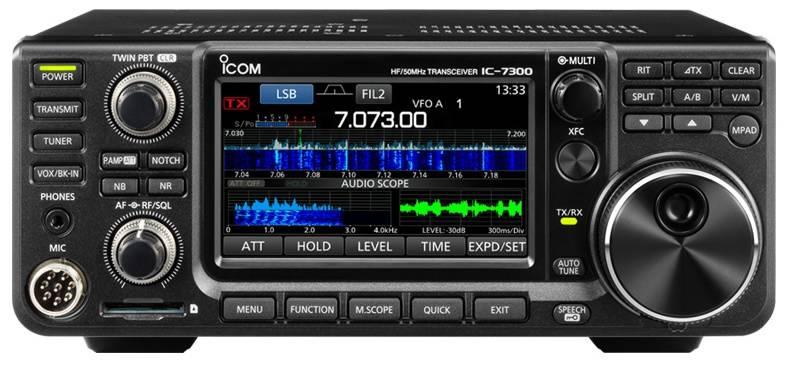 Icom IC-7300 amatőr asztali rádió - Icom asztali amatőr rádiók - DND ... 6b38406ea1