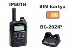 Icom IP501H LTE Two-Way Radio Transceiver with Charger - 1 Year Subscription