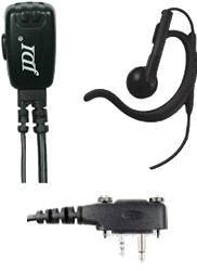 JDI JD-130XEH5/IC-F3032/B/C Headset For Icom Radio