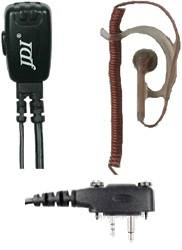 JDI JD-130XEH5/IC-F3032/T/C Headset For Icom Radio